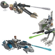 Hasbro E96785L0 Star Wars Mission Fleet Expedition Class, sortiert