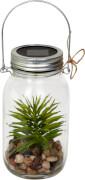 Solar-LED-Licht im Glas - I love my Gard